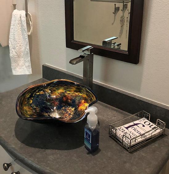 Glass Sink | Blown Glass Sink | Designer Sink