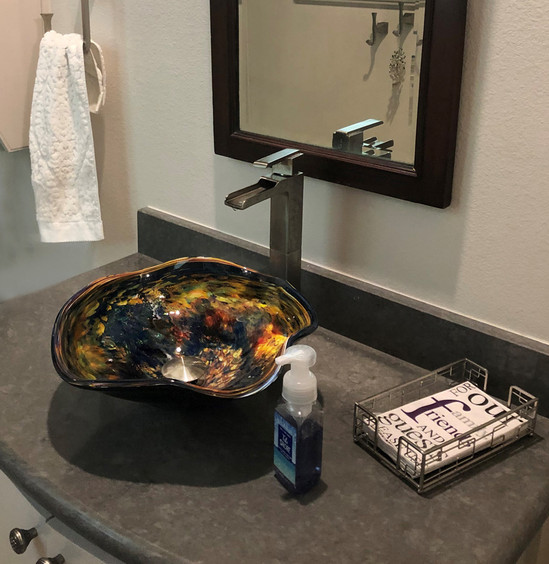 Glass Sink | Blown Glass Sink | Designer Sink