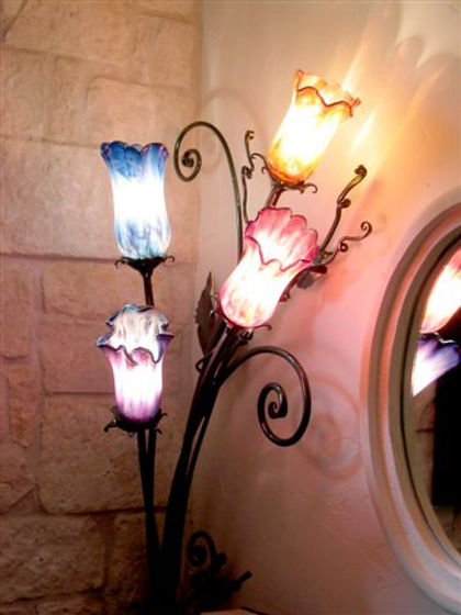 Art Glass Pendant Ligts