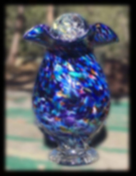 Glass Urns | Blown Glass Urns | Urns for Ashes |Glass Cremation Urn