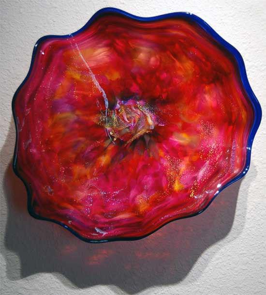 Blown Glass Wall Sculpture