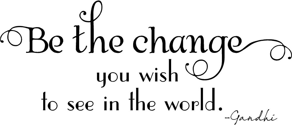 Mhatma Gandhi quote