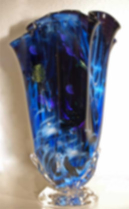 Glass Art Vase, Art Glass Vases