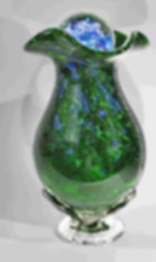 Blown Glass Urn, Glass Urns
