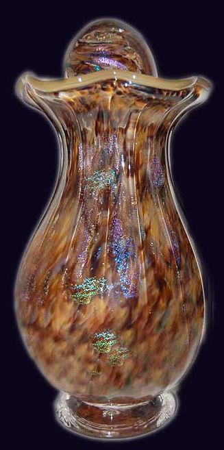 Glass Urn | Glass Cremation Urn | Hand Blown Glass Urn