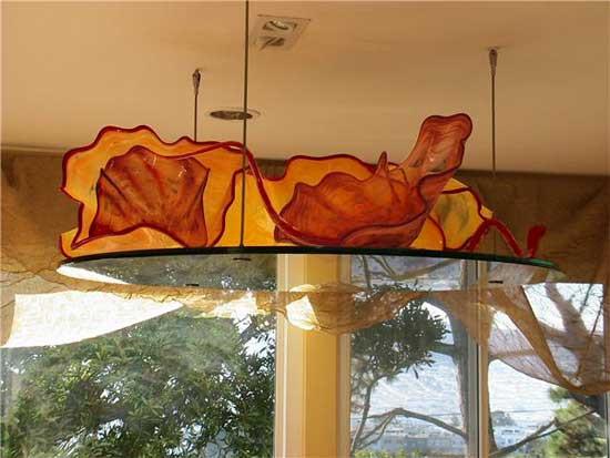 Hand Blown Ceiling Installation