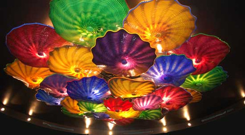 Go to Blown Glass Chandeliers