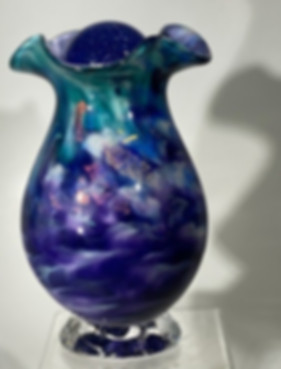 Blown Glass Urn, Glass Urns, Blown Glass Cremation Urns, Glass Urns Vase
