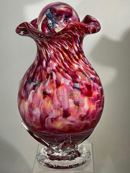 Glass Urn | Blown Glass Urn