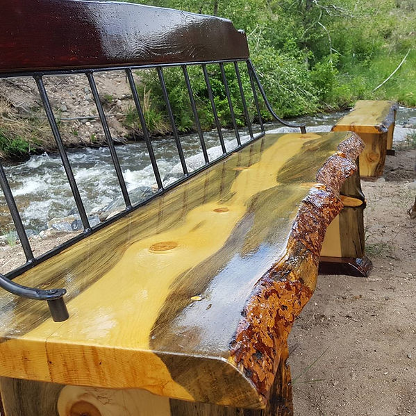 Live Edge Slb Benches