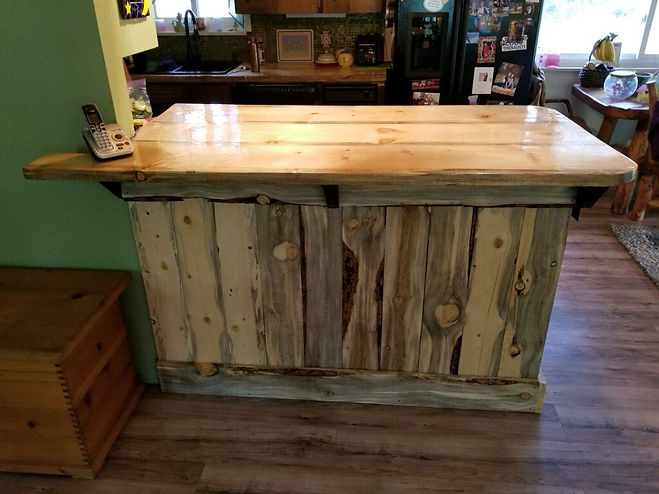 Live Edge Counter Top