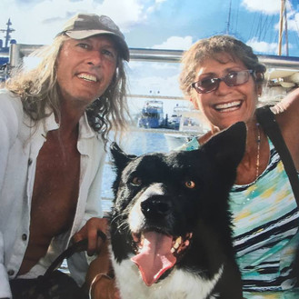 White Elk, his lovely wife Jeri, and Tonto