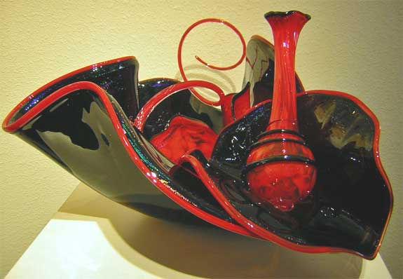 Glass Art Sculptures