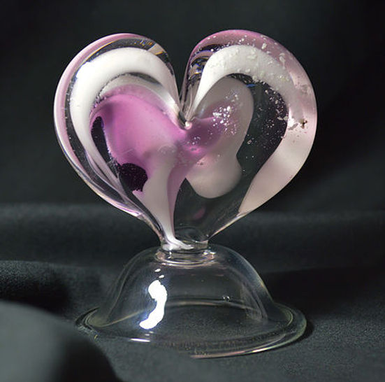Cremation Glass Jewelry, Ashes to Glass Jewelry, Glass Cremation Art