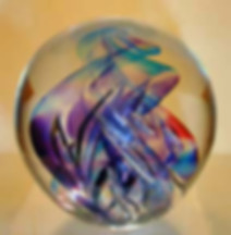 Blown Glass Paperweight
