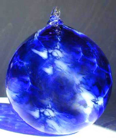 Glass Ball, Blown Glass Ornaments, Hand Blown Glass Ball, Hand Blown Glas Ornments