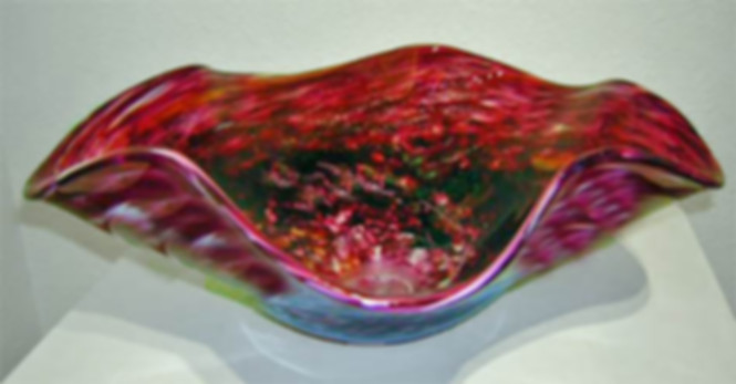 Hand Blown Glass Vessel Sinks, Art Glass Vessel Sink, Glass Basin