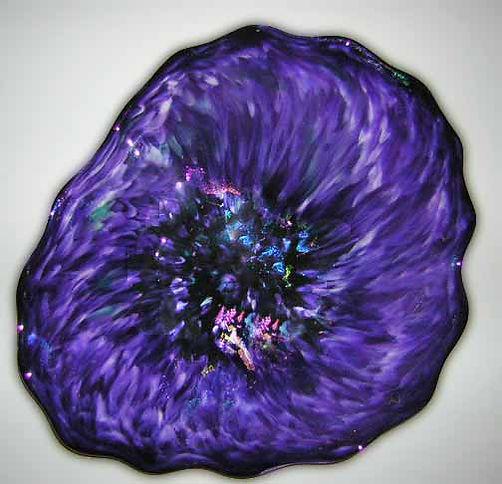 Glass Flower Wall Art