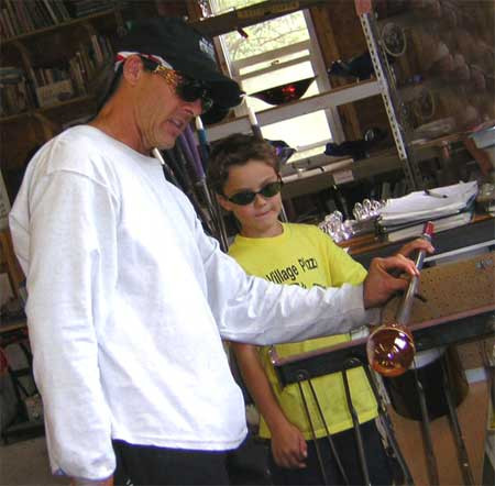 White Elk Glass Blowing