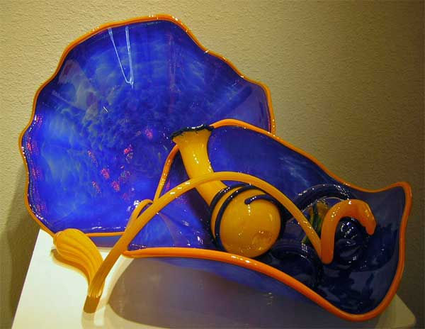 Blown Glass Sculpture Art