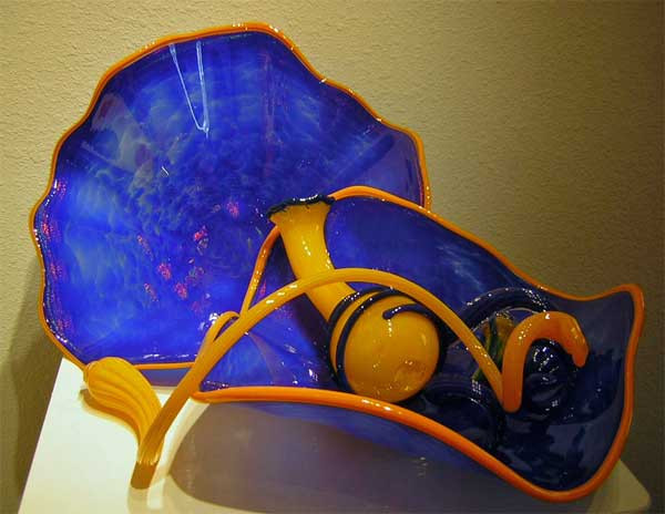 Blown Glass Sculpture Art