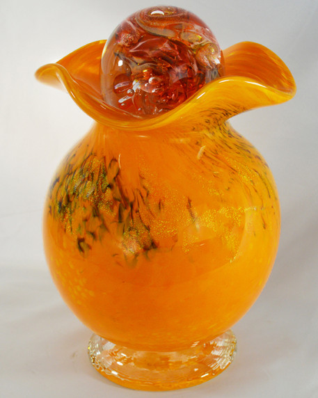 Glass Cremation Urn, Glass Urn