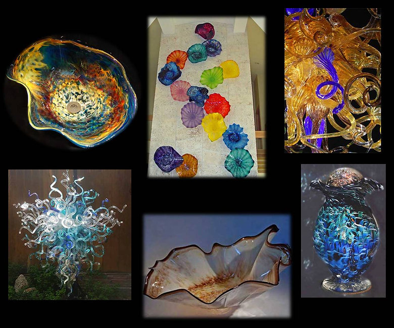 Glass Urns for Ashes | Glass Cremation Art | Glass Vessel Sinks | Blown Glass Chandelier | Glass Wall Art