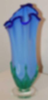 Hand Blown Glass Vase | Glass Blown Vase