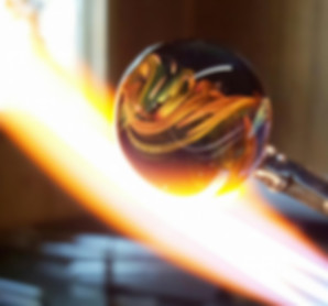 Glass Cremation Jewelry | Glass Heat Pendant with Ashes | Memorial Glass Art