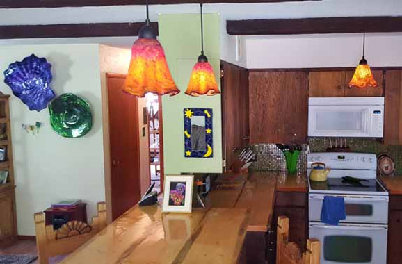 Art Glass Pendant Lights, Blown Glass Pendant Lights