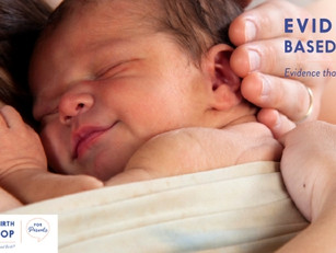 Our new Evidence Based Birth® program:  Introducing the Savvy Birth Workshop for Parents