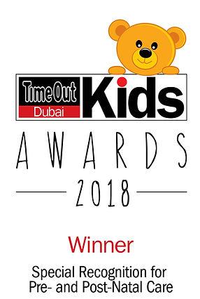 Time Out Dubai Kids Awards 2018 -   Winn