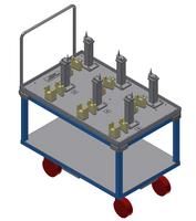 Material handling trolley 2