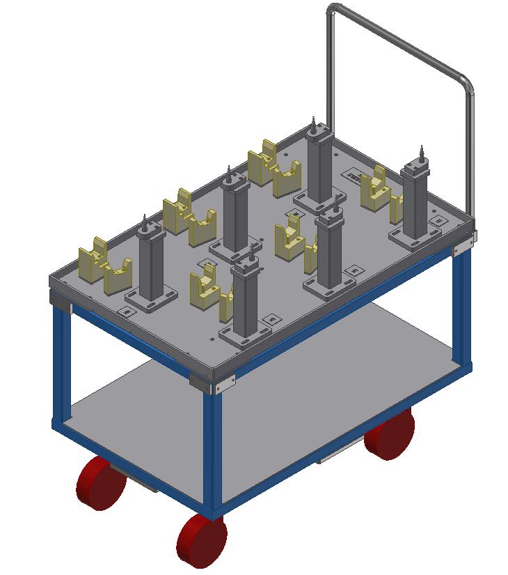 Material handling trolley 1