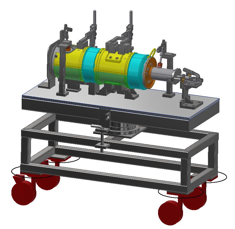 Exhaust System Welding Fixture 3