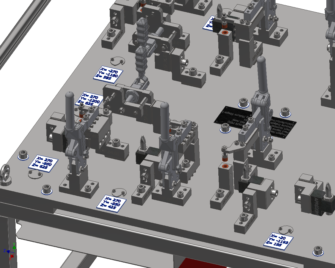 Fuel Tank Assembly Welding Fixture 6