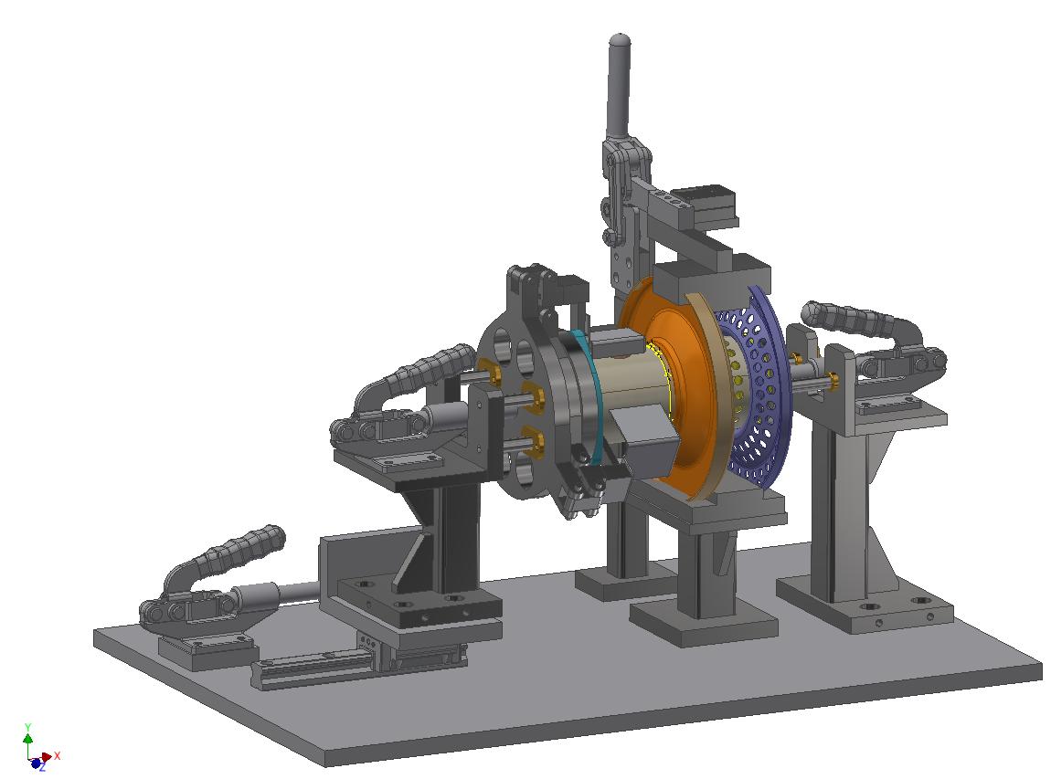 Exhaust System Welding Fixture 2
