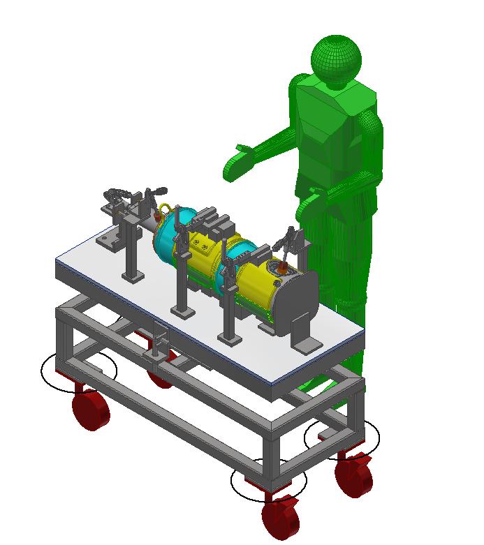 Exhaust System Welding Fixture 4