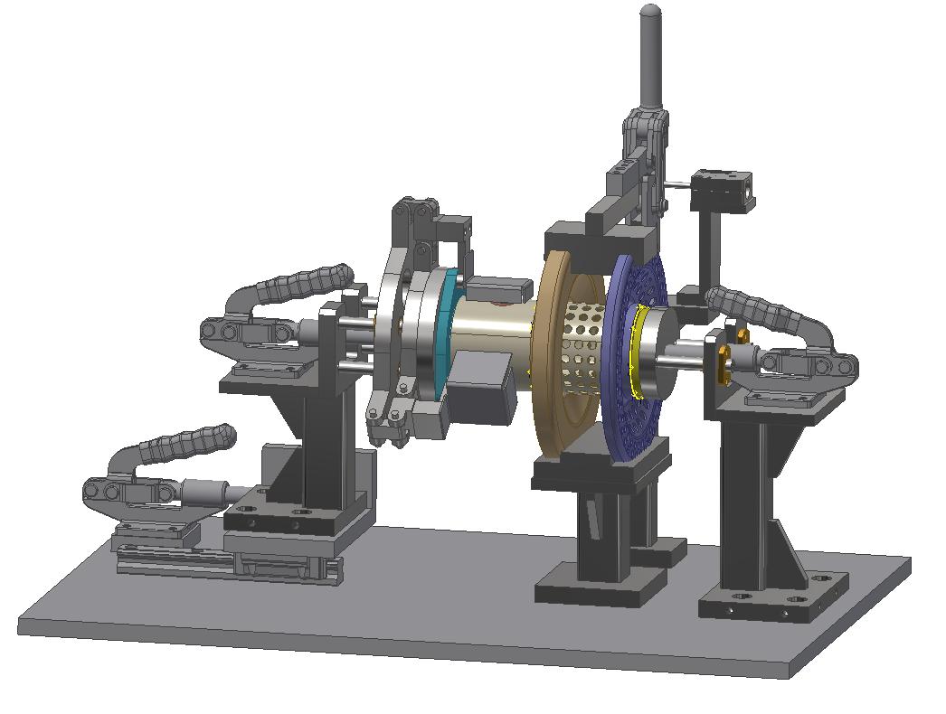 Exhaust System Welding Fixture 1