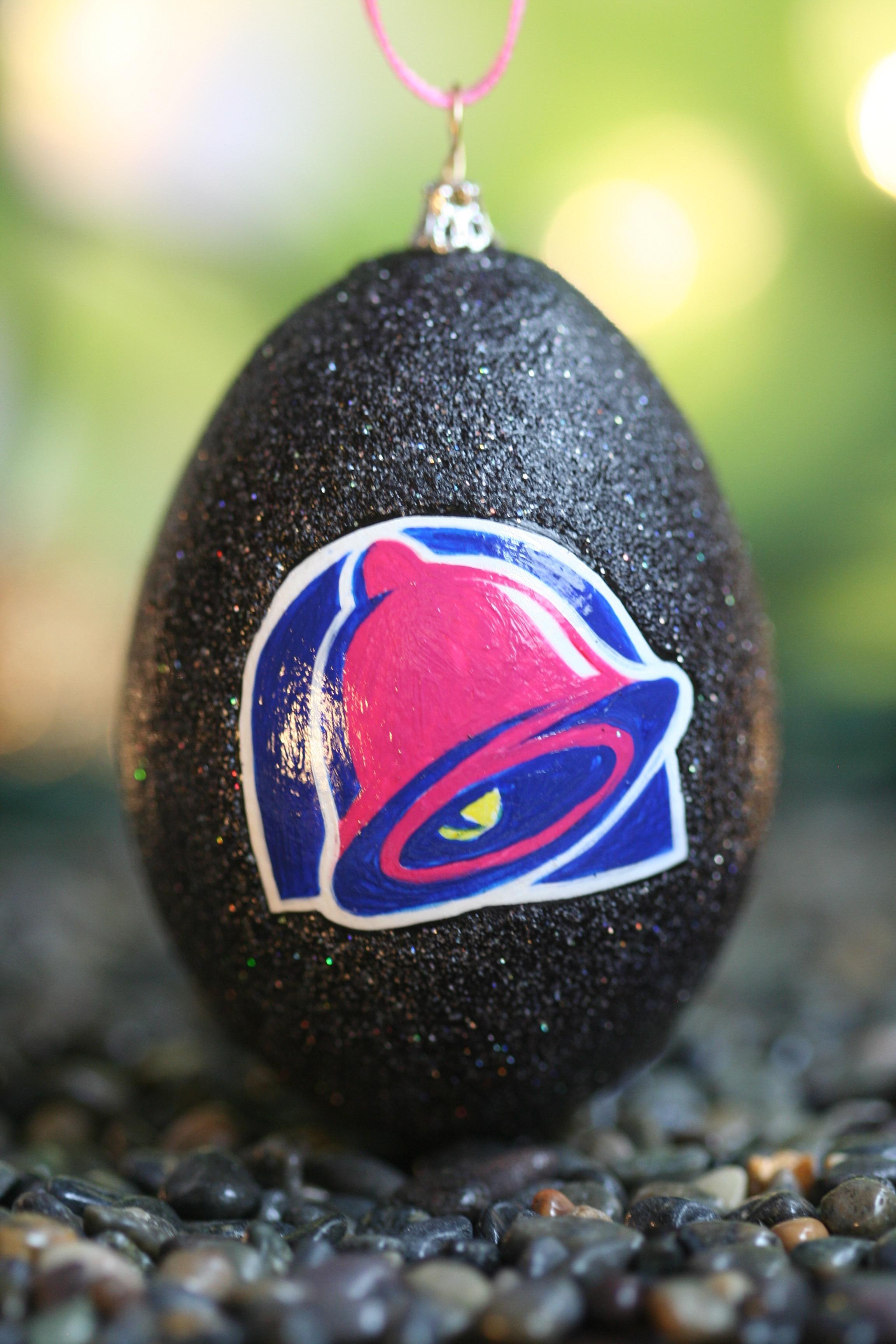 Taco Bell Ornament