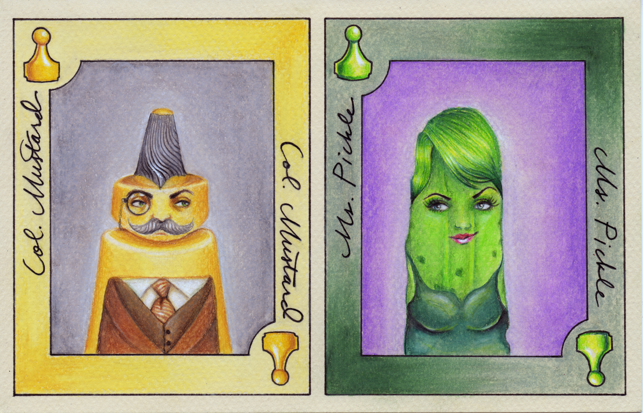 Mustard and Pickle Card