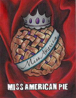 Miss American Pie Award Card