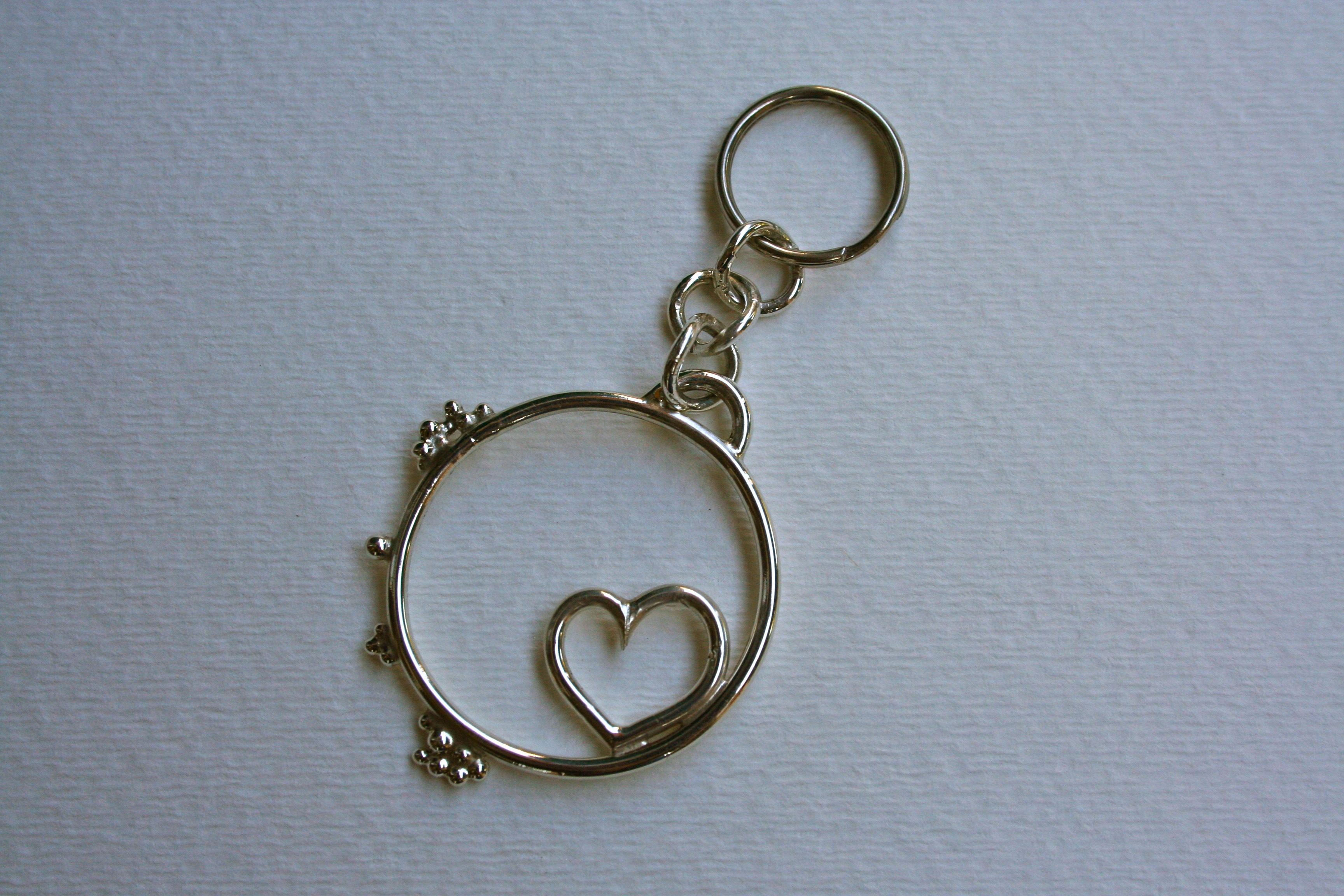 Circle Keychain for Him
