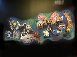 Animal Team Mural