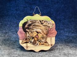 Upside-down Kitty Ornament