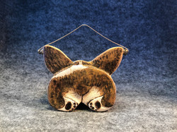 Corgi Butt Ornament
