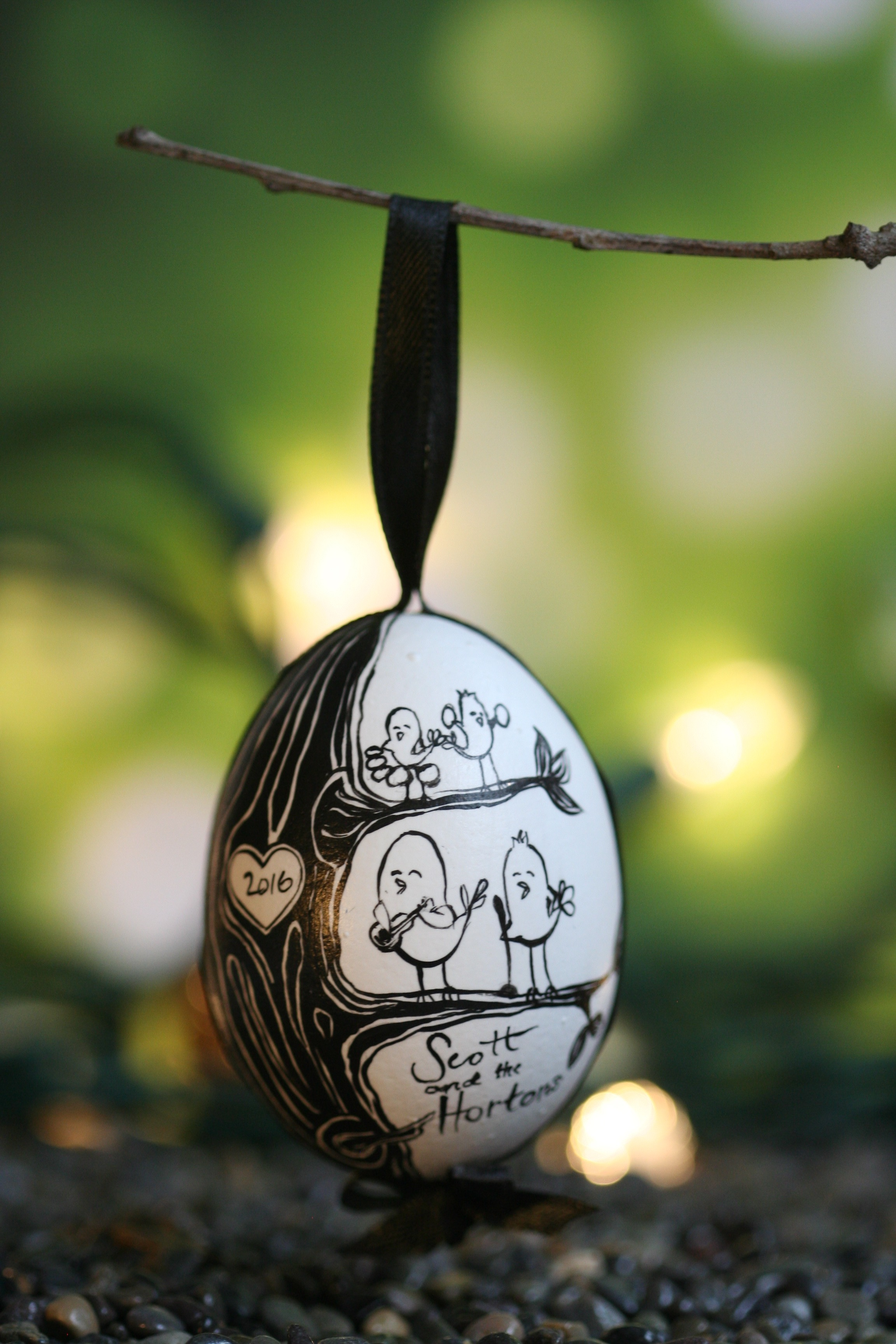 Bird Band Ornament