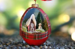 Gingerbread, Snowman, Tree Ornament