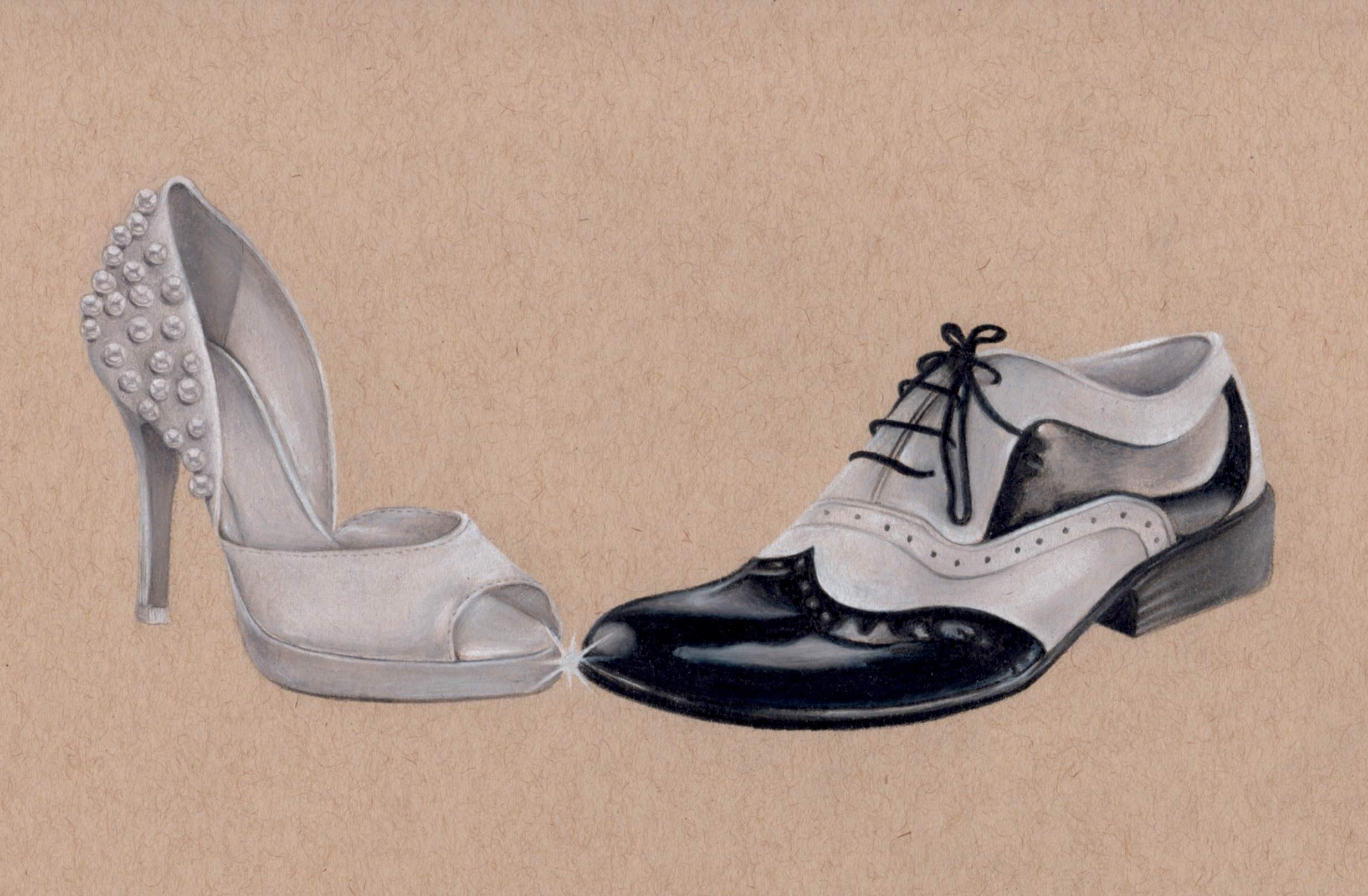 Wedding Shoe Card