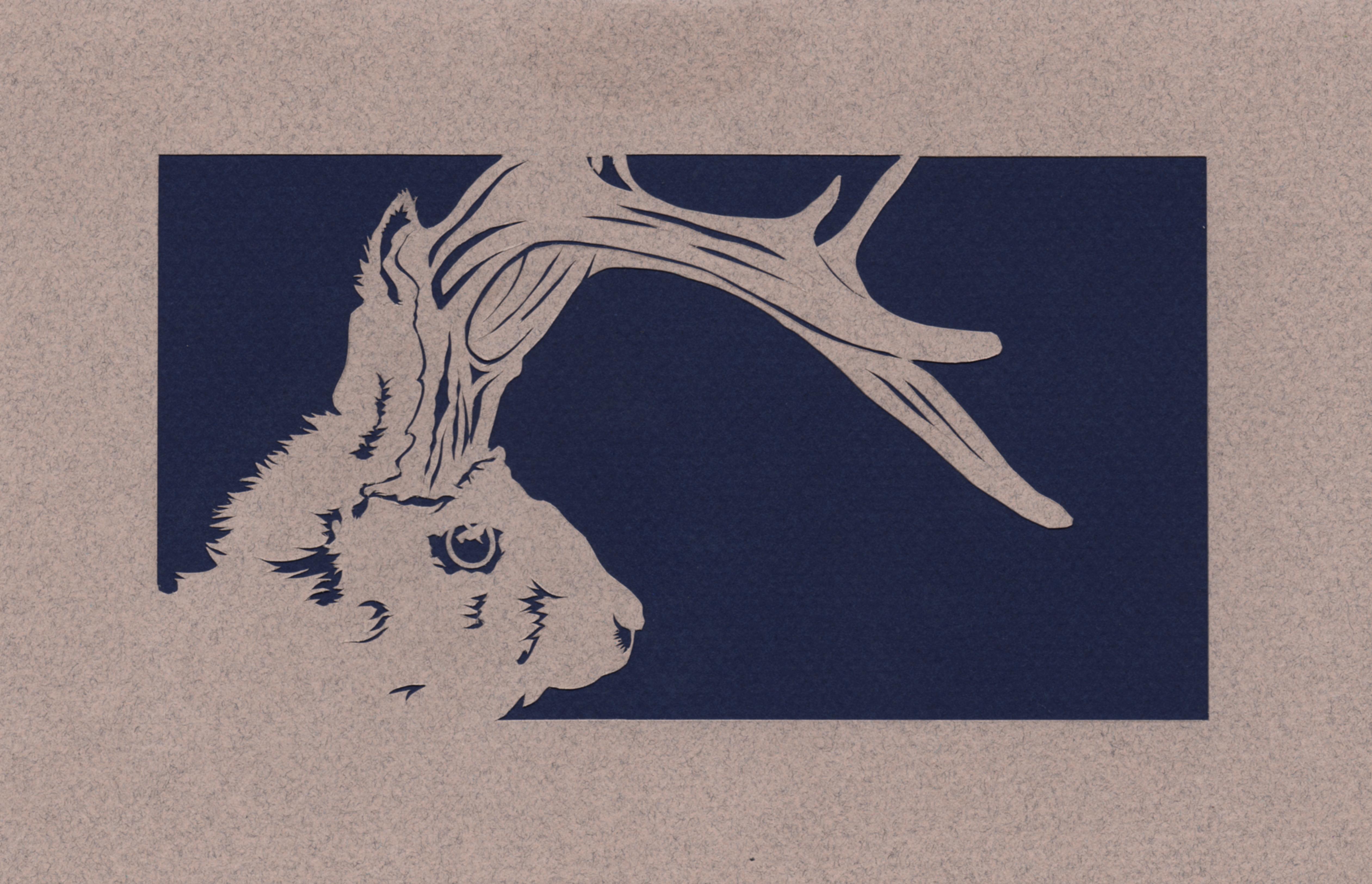 Jackalope Father's Card